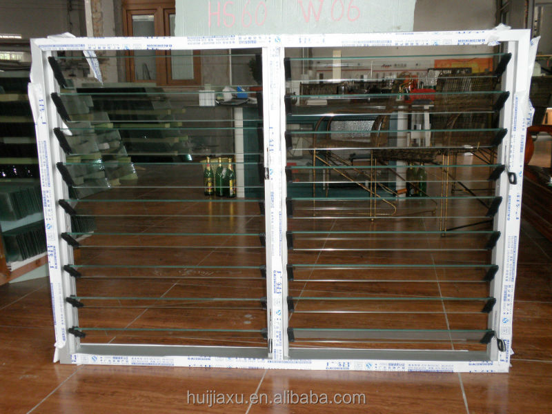 Precio de vidrio marco de aluminio persianas ventanas for Precios de ventanas con persianas