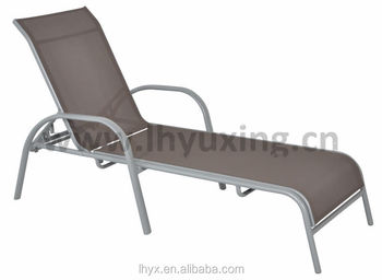Aluminum Folding Beach Lounge Chair Garden Sun Loungers Outdoor