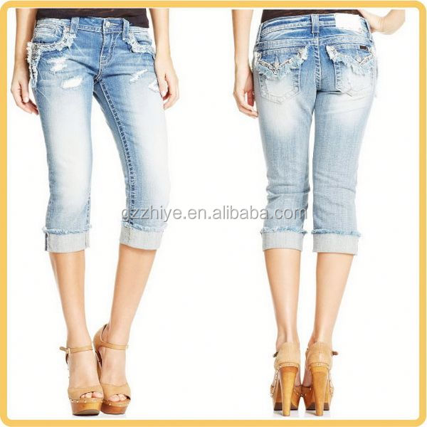Import from China women jeans italy design