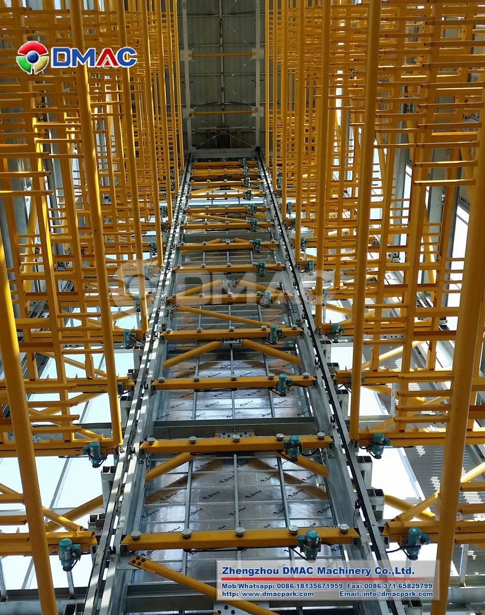 Steel Structure Vertical Lifting Parking Garage Tower