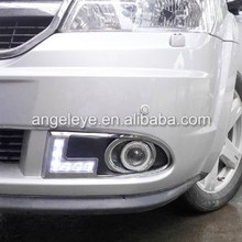Pour Dodge Journey JCUV Fiat Freemont LED Daytime Running Light 2009 - 2012 ano