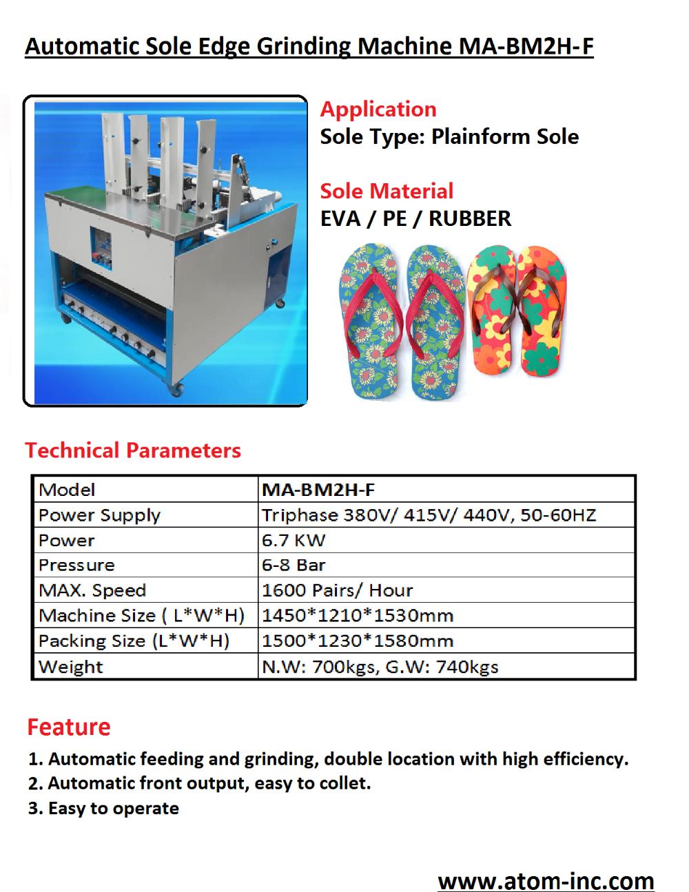 Automatic Eva Flip Flop Sole Edge Grinding Machine Buy