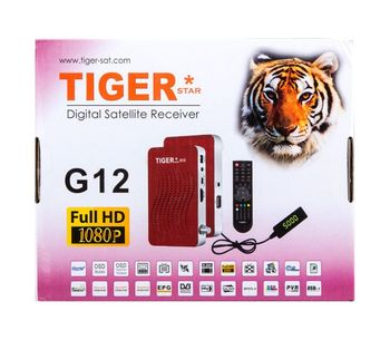 G12 RED hot super box tv box digital satellite receiver
