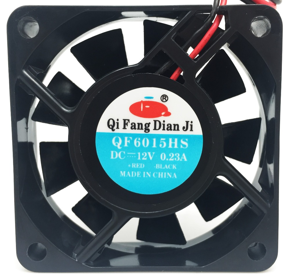 Qifang waterproof 5v 12v 24v 60mm 6cm radiator small silent high speed dc fans