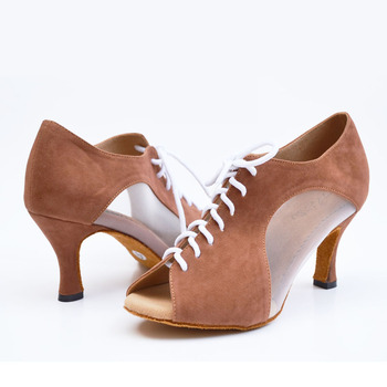 New Latin Dance Shoes Adult Female Shoes Ballroom Dancing Party Can Be Customized With High Heels