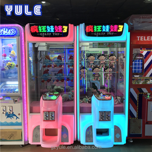 YU LE Durable crane claw indoor games made in China