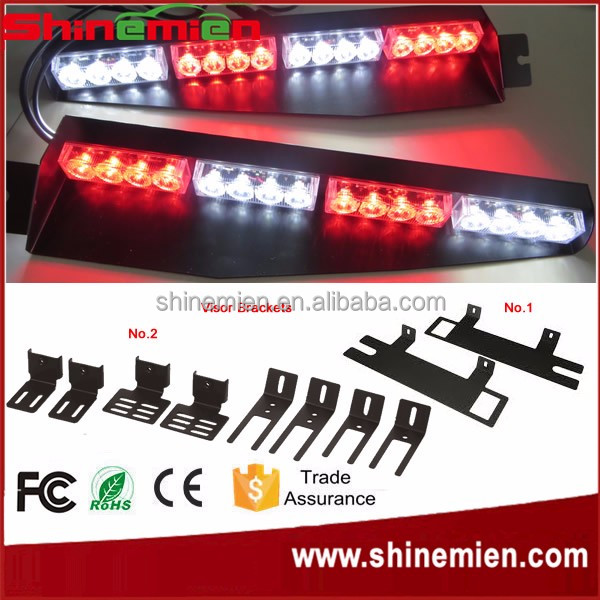 Volunteer Firefighter/EMS Emergency Vehicle Warning Lights LED Dash Deck  Light/Visor Flash Lightbar
