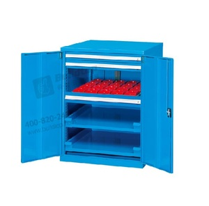 CNC tool storage cabinets on wheels