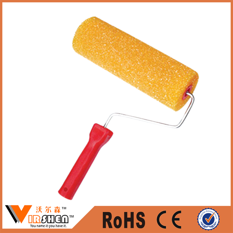 Professional decorative wall paint roller brush