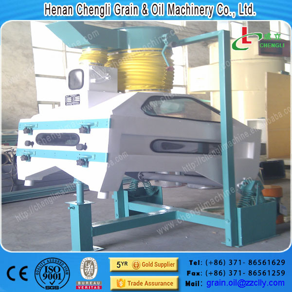 Separate the stone machinery in grain