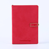 High Quality Custom Logo Company Gift Leather Diary Journal Agenda Notebook with Magnetic Buckle
