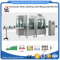 CO2 Carbon dioxide drinks and water Washing filling bottle capping machine 3 in 1