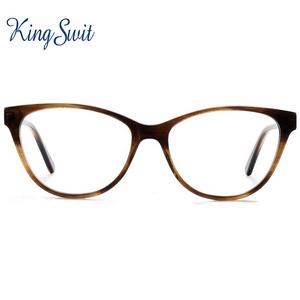 97401a37b6 2019 Fashion Spectacle Frames Optical Glasses vintage brand Cat Eye  Eyeglasses frames AM40