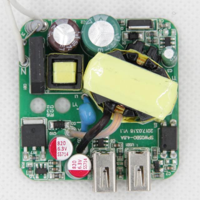 Source usb charger pcb 5V 4A 4 8A 5 1A 4 USB Adapter pcba