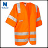 ANSI Class 3 Pockets Hi Vis Sleeved Work Safety Vest Reflective