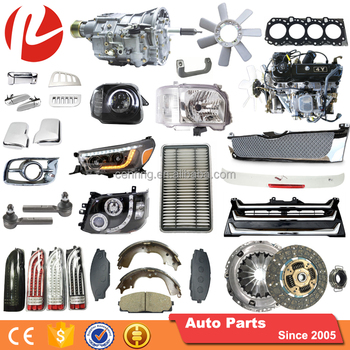 High Quality Auto Parts Rolie Body Chassis Auto Spare Parts Japanese Van Auto Parts