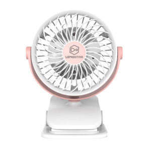 Newest Design Strong Wind 4 Speed Control Flexible Indoor Outdoor Gift Portable Pram Mini Clip Fan