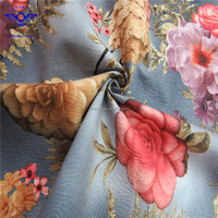 Bottom price Printed Fabric upholstery sofa fabric