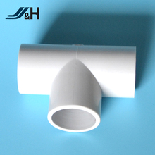 Electrical PVC Conduit Fitting solid elbow Tee 90 degree elbow