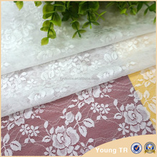 New trendy design moti lace nylon spandex lace fabric