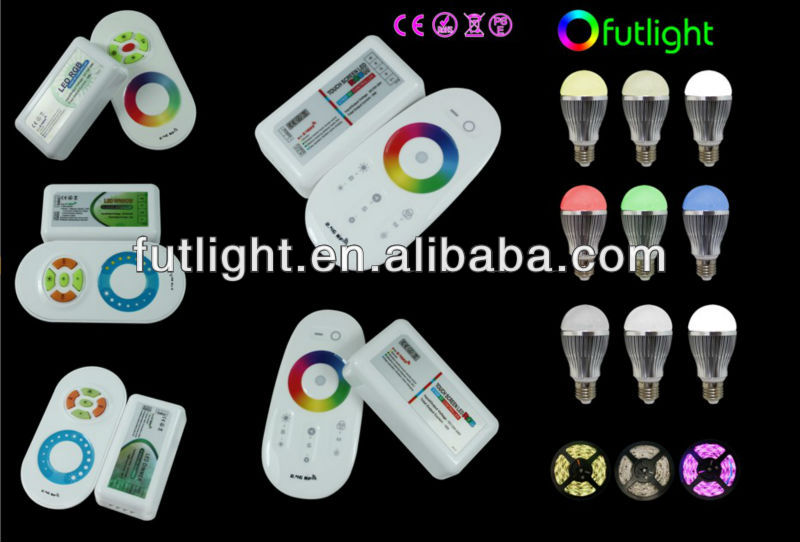 Newest Rgb Led Strip Wifi Lighting 2.4g Rf Wireless Remote Control ...
