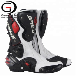 Men Anti-slip Waterproof Riding Shoes Motorbike Motorcycle Racing Boots