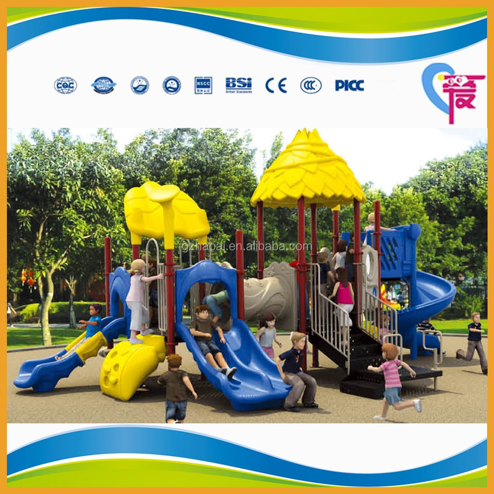 hl 6601 guangzhou used commercial cheap outdoor playsets for kids