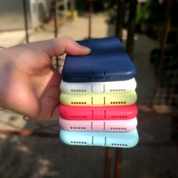 Candy Color Soft TPU Case For iPhone 5 jelly case for iphone free by DHL