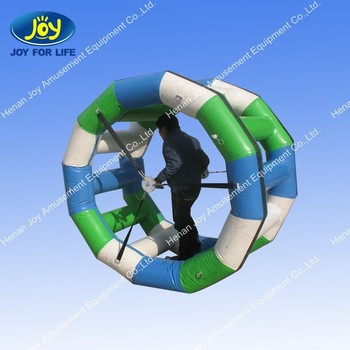 Fun water park games wonder wheel inflatable toy