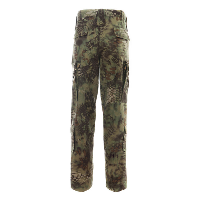 Top Quality Mountain Python Camo Combat Pants  Men's military Tactical Trousers Army  Camouflage Pants