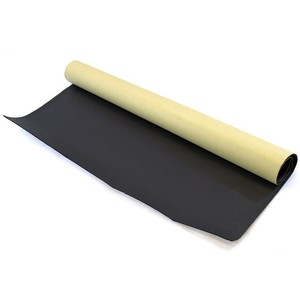 ADHESIVE BACKED BLACK NEOPRENE SPONGE/FOAM RUBBER SHEET 2mm - 15mm THICK