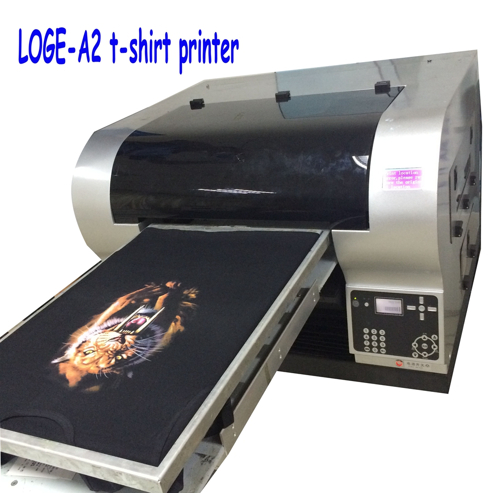 cheap Inkjet 3D multicolor t-shirt <strong>printer</strong> with RIP