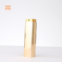 Small Twist Refill Aluminum Square Hanging Car Empty Miniature Perfume Bottle