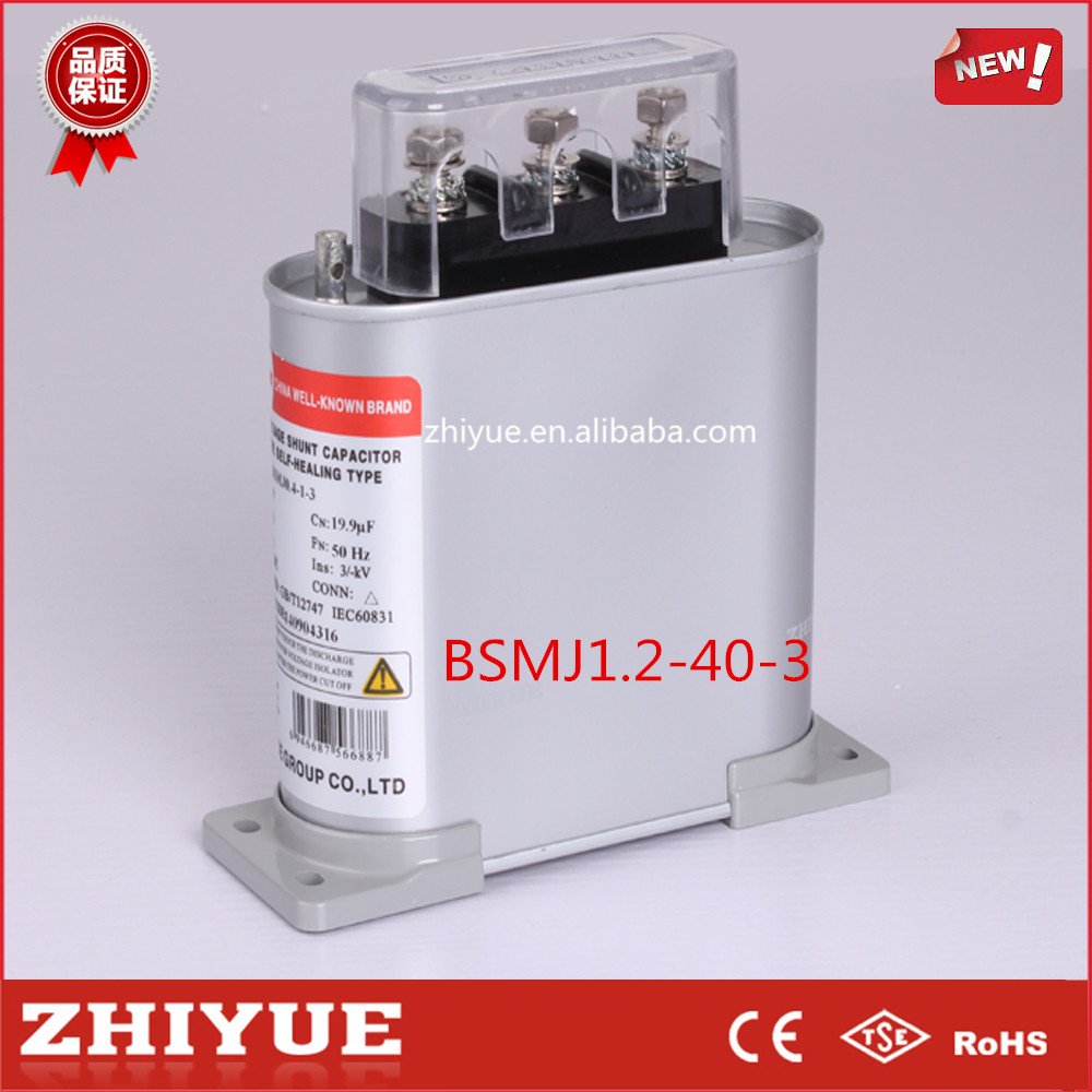 40kvar 1200V low voltage shunt capacitor price