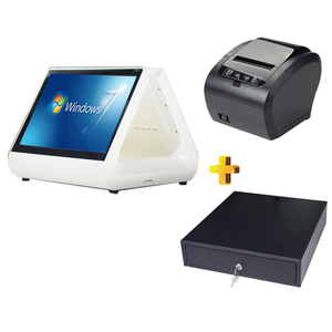 supermarket billing machine fast food shop cash register touch pos terminal