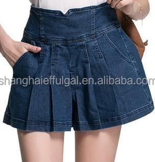 Girls Jean Skirt Skirt Ify