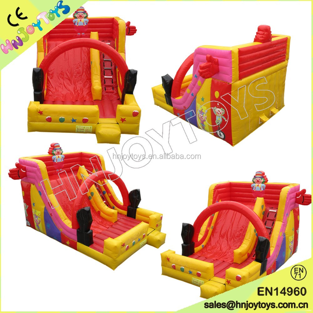 2016 new designed <strong>inflatable</strong> dry slide slide <strong>inflatable</strong> for kids and adults