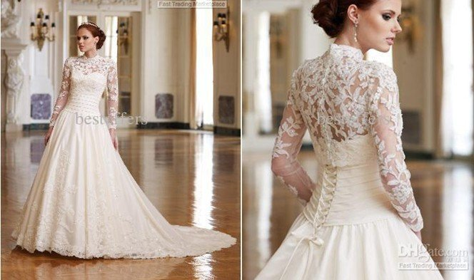 Wholesale Inspired By Kate Middleton Wedding Dress High
