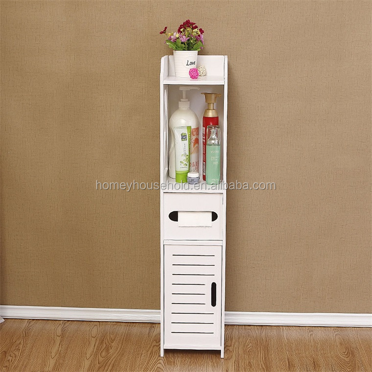 Wholesale Customized Cheap White Wooden Storage Bathroom Vanity Cabinets