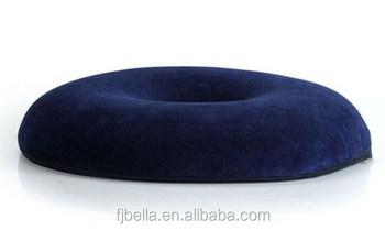 marineblau memory foam ring donut kissen stei bein orthop dische kissen h morrhoiden kissen. Black Bedroom Furniture Sets. Home Design Ideas