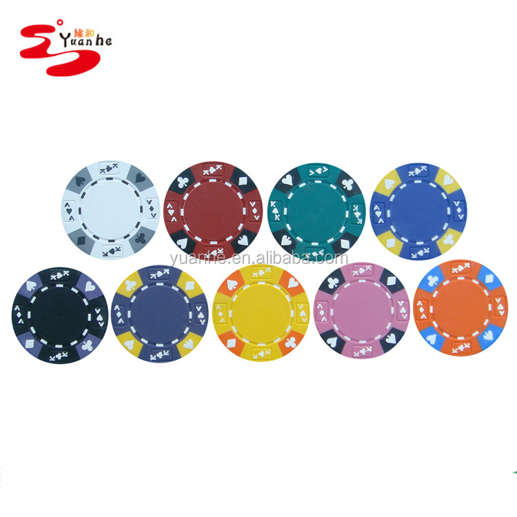 13.5g Ace Koning Tricolor Clay Poker Chips