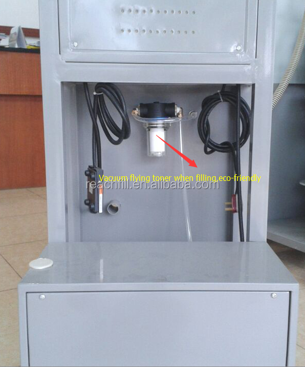 hot cartridge refilling equipment with vacuum cleaner RB15A