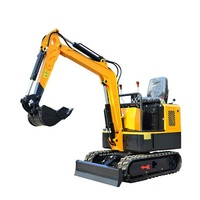 Hot sale!!!0.8 /1.0 Ton mini crawler Excavator with chinese engine