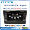 ZESTECH double din car dvd player for skoda superb dvd player for car 2009 2010 2011 2012