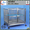 strong stainless steel breeding cage dog cage good for dog
