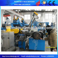 Waste Plastic PET bottle, milk carton, HDPE, LDPE,PVC,PS, PP film crushing and washing recycling machines line plant
