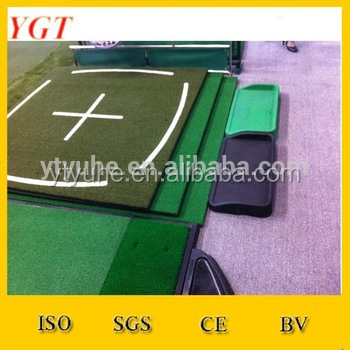 YGT AB Artificial golf hitting mat turf for driving range tee lines