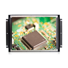 15 polegada interior TFT video monitor com entrada de vídeo composto + abra o monitor lcd quadro
