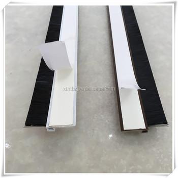 Weatherproof Door Bottom Brush Door Seal Strip & Weatherproofing Door Bottom u0026 Cut Metal Tension Strips Fit Door ... pezcame.com