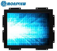 Wall mounting embedded high brightness 19 inch 5:4 square screen LCD monitor
